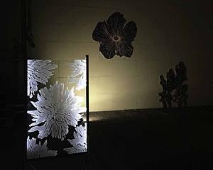 blomst akryl 2